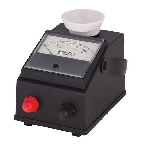 Myron L Conductivity Meter : Myron l m analog conductivity meter from cole parmer