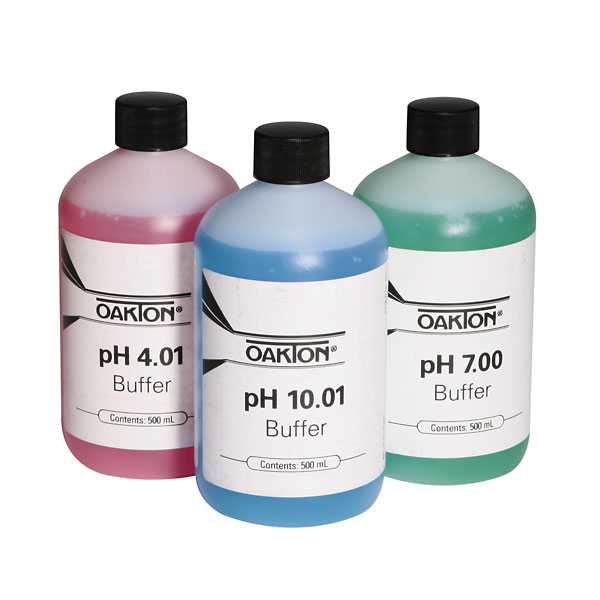 Oakton Buffer Pack 500 Ml Each Of 4 01 7 00 And 10 00