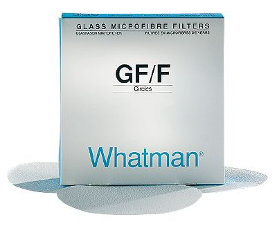 Whatman Glass Microfiber Filter Papers—For high efficiency - less than 3 mm; 4.7 cm dia; pore size,