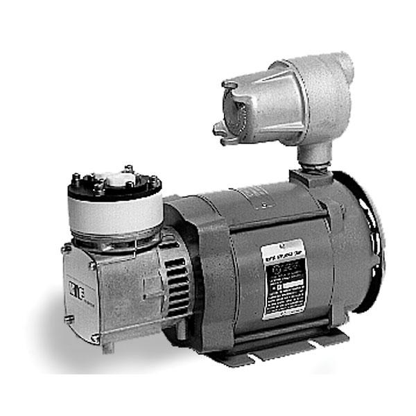 Knf Explosion Proof Motor Vacuum Pump Ptfe Ptfe 0 6 Cfm 27