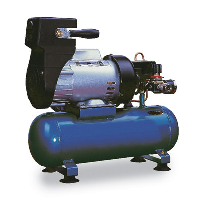 Holiday Gift Ideas Direct drive air compressor, 4.8 cfm (136 LPM), 2 gallon (7.5 liters) twin-stack tank, 115 VAC