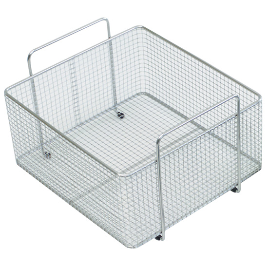 Stainless Steel Mesh Basket For Ultrasonic Cleaner Models
