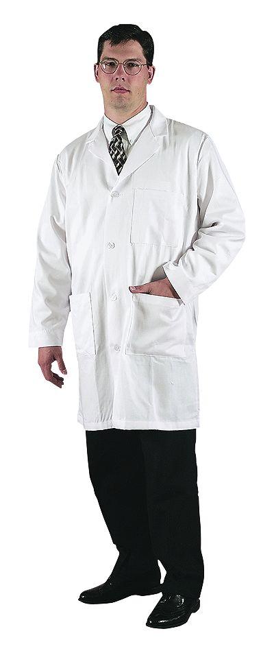 META 100 Cotton Lab Coat Men s Medium 42 from Cole-Parmer
