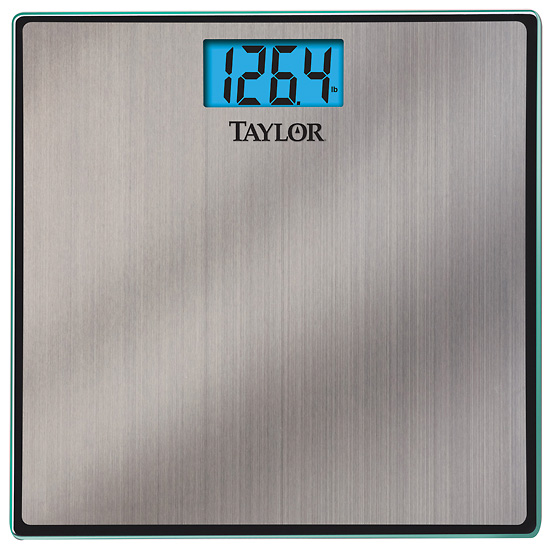 Taylor 7407 Glass And Stainless Steel High Capacity Bath Scale 400 Lbs From Cole Parmer