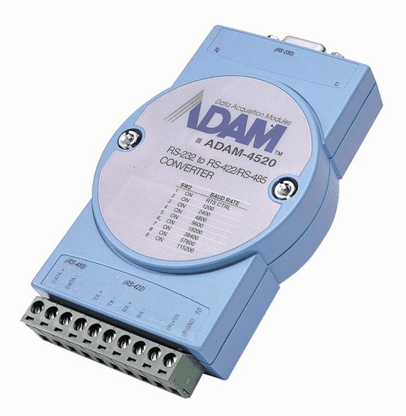 Rs 422 Tester : Advantech adam d e isolated rs to
