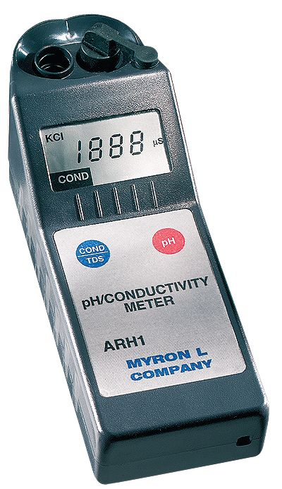 Myron L Conductivity Meter : Myron l ar digital conductivity tds meter from cole parmer