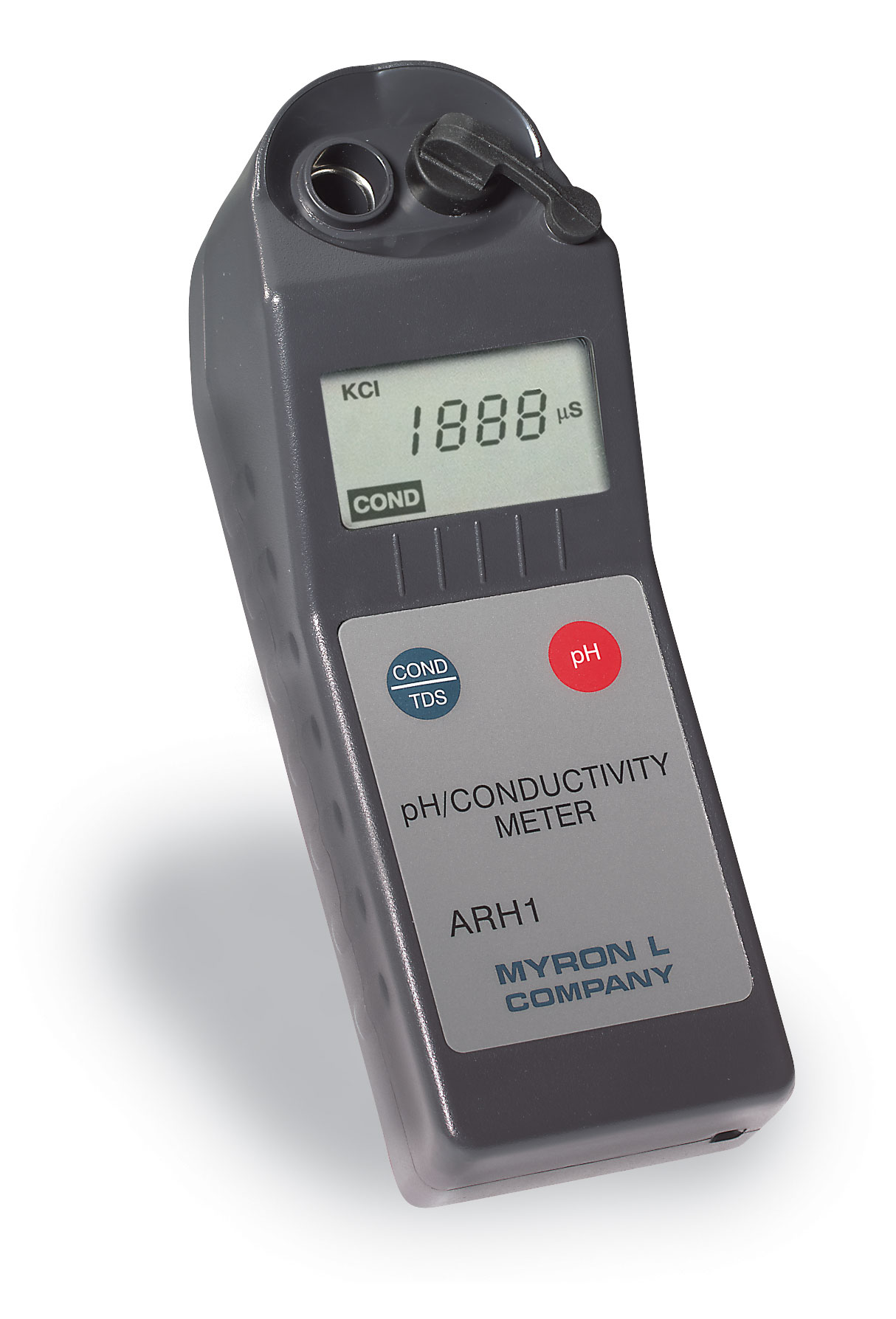 Myron L Conductivity Meter : Myron l p waterproof conductivity resistivity ph tds orp