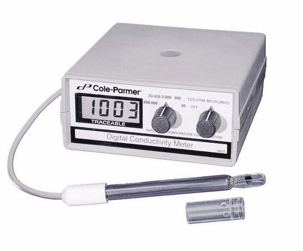Portable Conductivity Meter : Cole parmer traceable benchtop portable conductivity meter