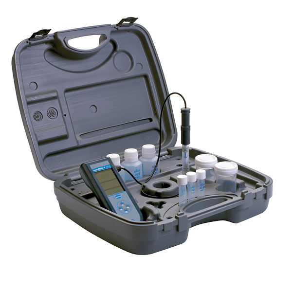 Hach Conductivity Meter : Hach sension conductivity meter kit from cole parmer