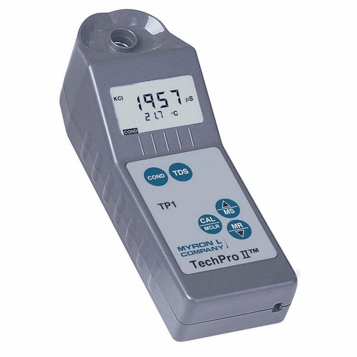 Myron L Conductivity Meter : Myron l techpro ii tp conductivity tds meter from cole