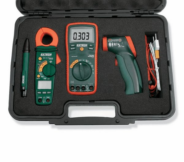 how to use extech multimeter
