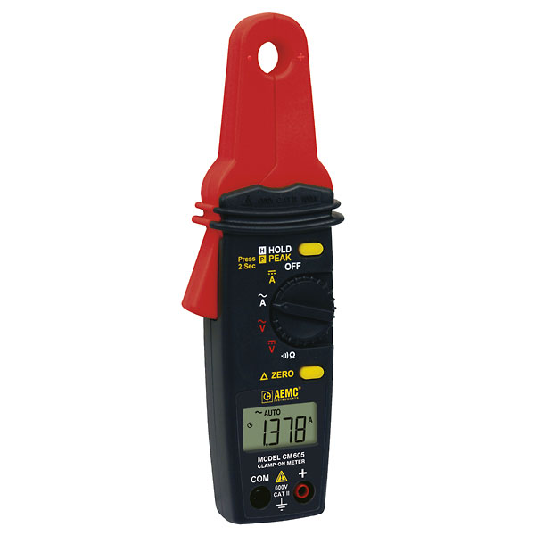 Current Clamp Meter : Aemc cm low current clamp meter a ac dc from cole