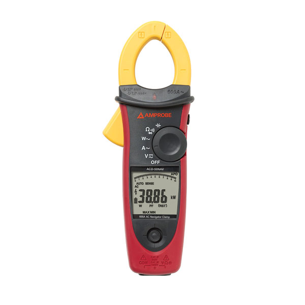 Amprobe Acd 50nav Navigator Clamp Meter 600 A Ac From Cole
