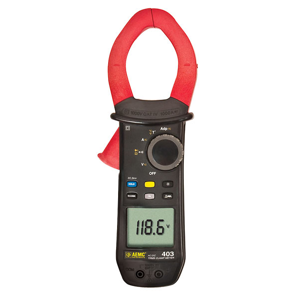 Aemc 405 Clamp Meter 1000 Ac 1500 A Dc From Cole Parmer