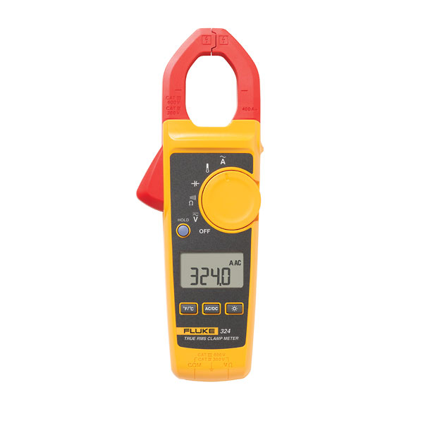 Fluke Capacitor Meter : Fluke trms clamp meter a with resistance and