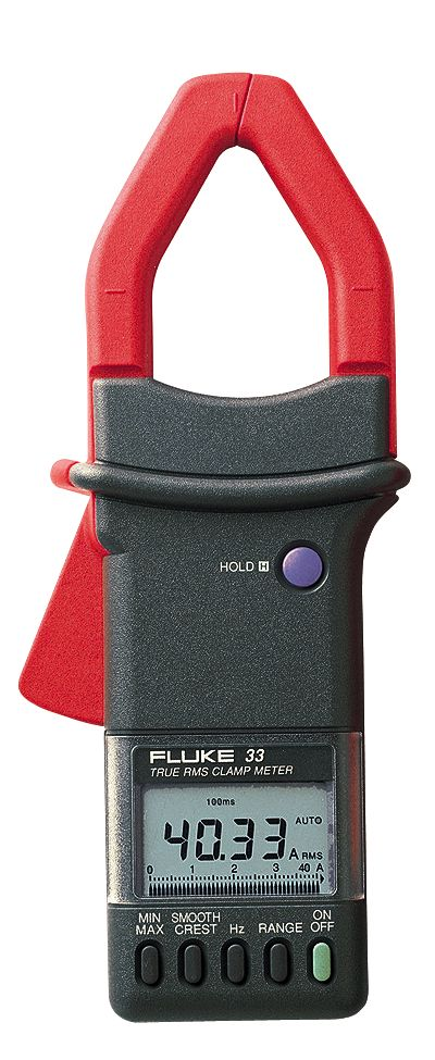 True Rms Clamp Meter : Fluke true rms ac clamp meter from cole parmer