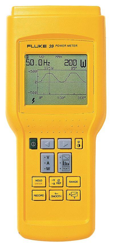 Fluke Voltage Meter : Fluke power meter from cole parmer
