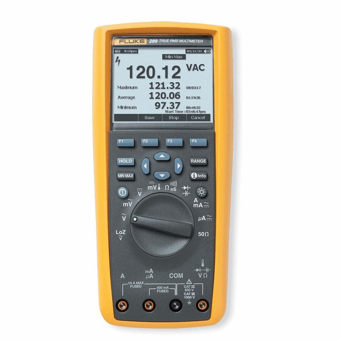 True Rms Meter : Fluke true rms industrial logging multimeter with