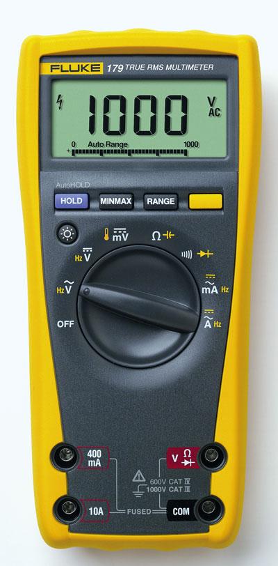 Fluke 179 True RMS Multimeter with backlight and ...
