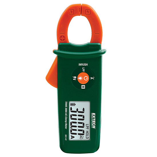 Mini Clamp Meters : Extech ma mini clamp meter trms a ac non contact