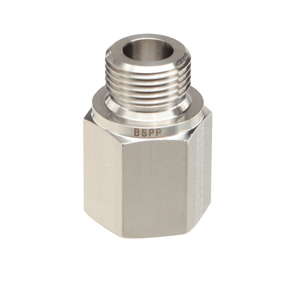 Threaded adapter stainless steel female npt to
