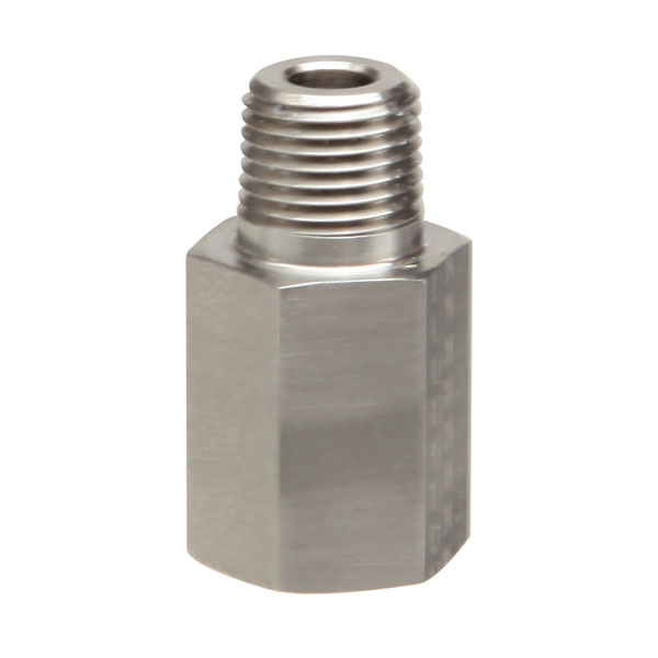 Threaded adapter stainless steel female bspp to