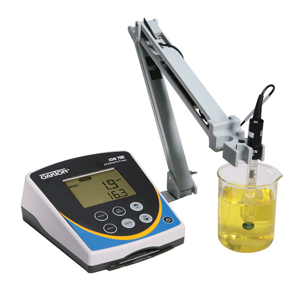 Ph Meter For Chemicals : Oakton ion benchtop meter with electrode stand from