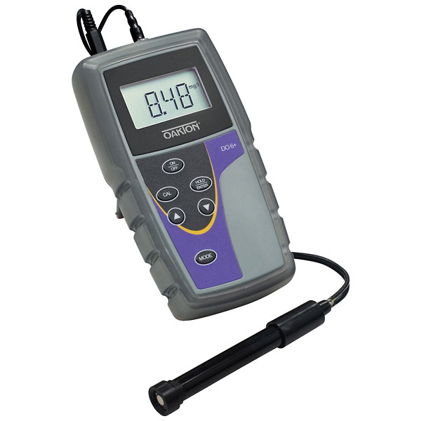 Dissolved Oxygen Meter : Oakton do dissolved oxygen meter with probe from cole parmer