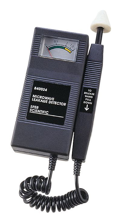 Microwave Leak Detector From Cole Parmer
