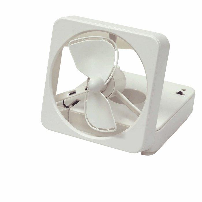 Battery Operated Desk Fan : Miniature personal desk fan battery operated