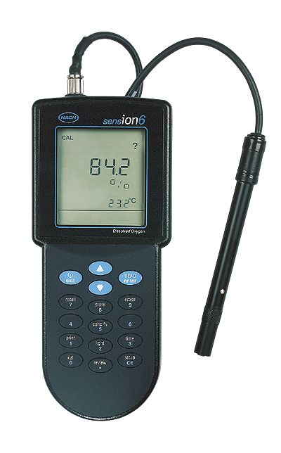 Hach Ph Meter : Hach sension dissolved oxygen meter from cole parmer