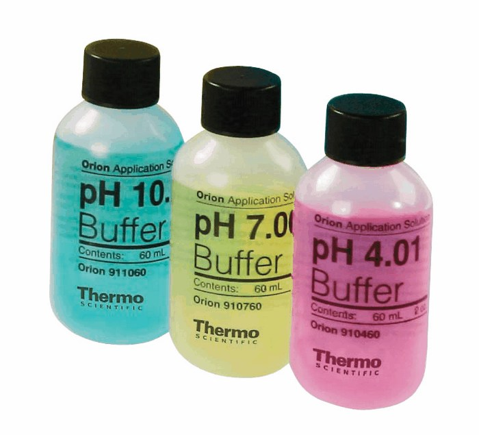 ph and buffer solution Ph is a measure of the hydrogen ion concentration in an aqueous solution it can  be important to maintain a certain ph, so we use a buffer.