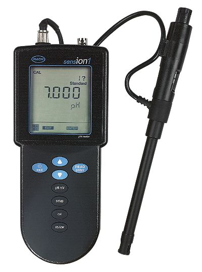 Hach Ph Meter : Hach sension waterproof ph mv meter from cole parmer