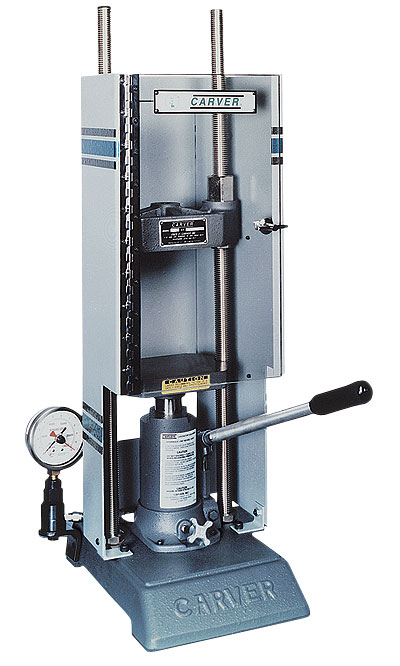 Hydraulic Life Support : Hydraulic press test system manual tons from cole parmer