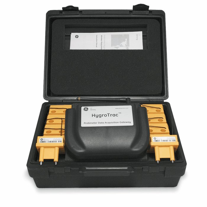 Remote Monitoring System : Ge protimeter bld hygrotrac monitor kit wireless