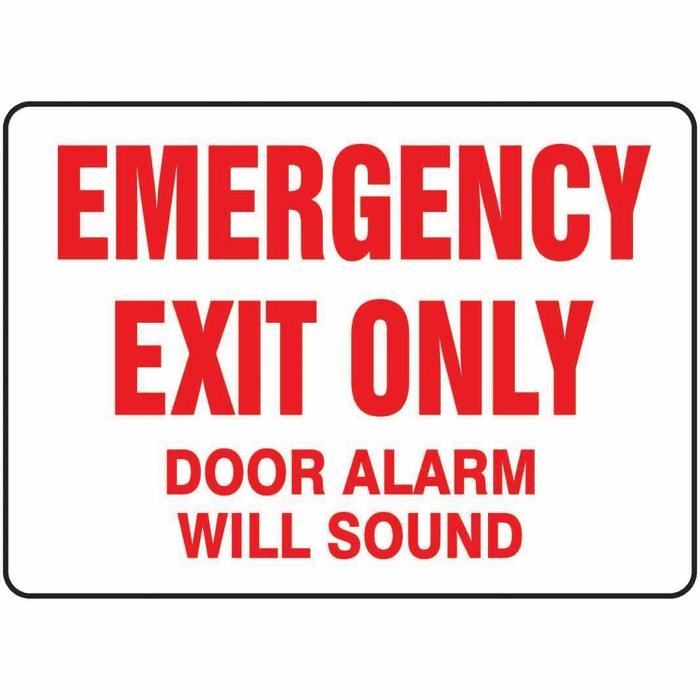 Do Not Block Signs, Fire Exit Signs, Emergency Signs - Safety Signs
