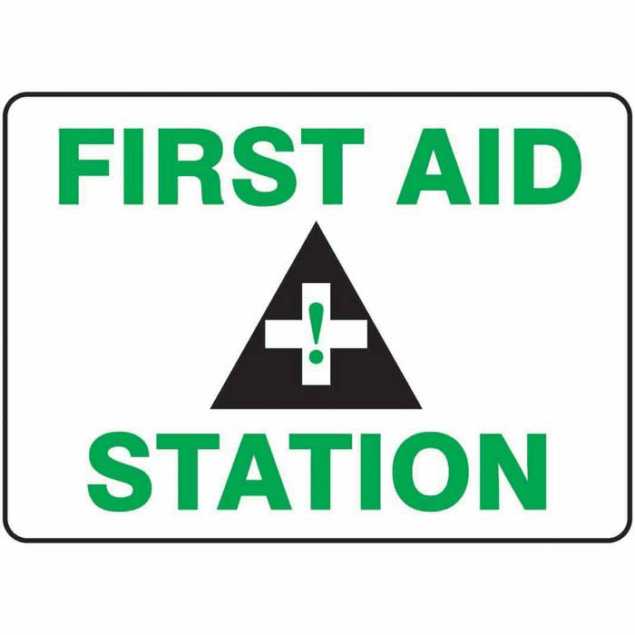 Safety Signs First Aid Safety Sign First Aid Station