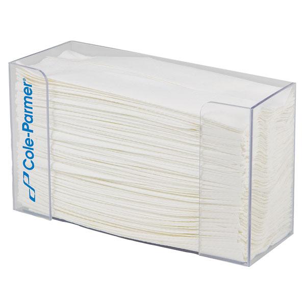 cole parmer paper towel dispenser 10 5 l x 3 75 w x 6 5 h 1 pk 63535