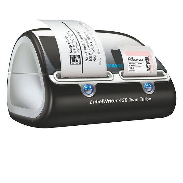 Dymo labelwriter 450 twin turbo uses two label writer for Dymo labelwriter 400 labels