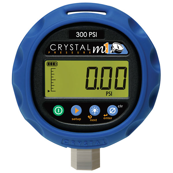 Crystal M1 Digital Pressure Gauge 0 To 3000 Psi From Cole