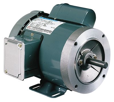 General purpose single phase tefc odp nema type c face for Large single phase motors