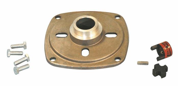 Bronze Gear Pump Head Motor Adapter For Nema 56c From Cole