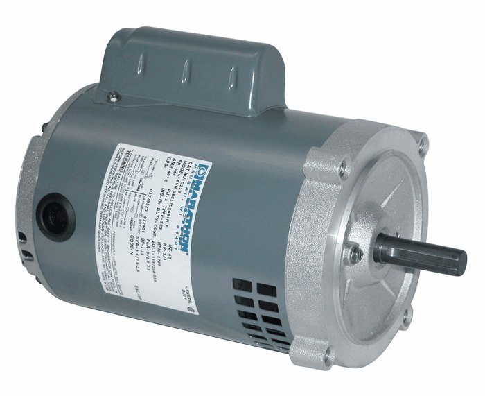 Single phase odp motor 56c 0 5 hp 3600 rpm 115 208 230 v for 5 hp single phase motor