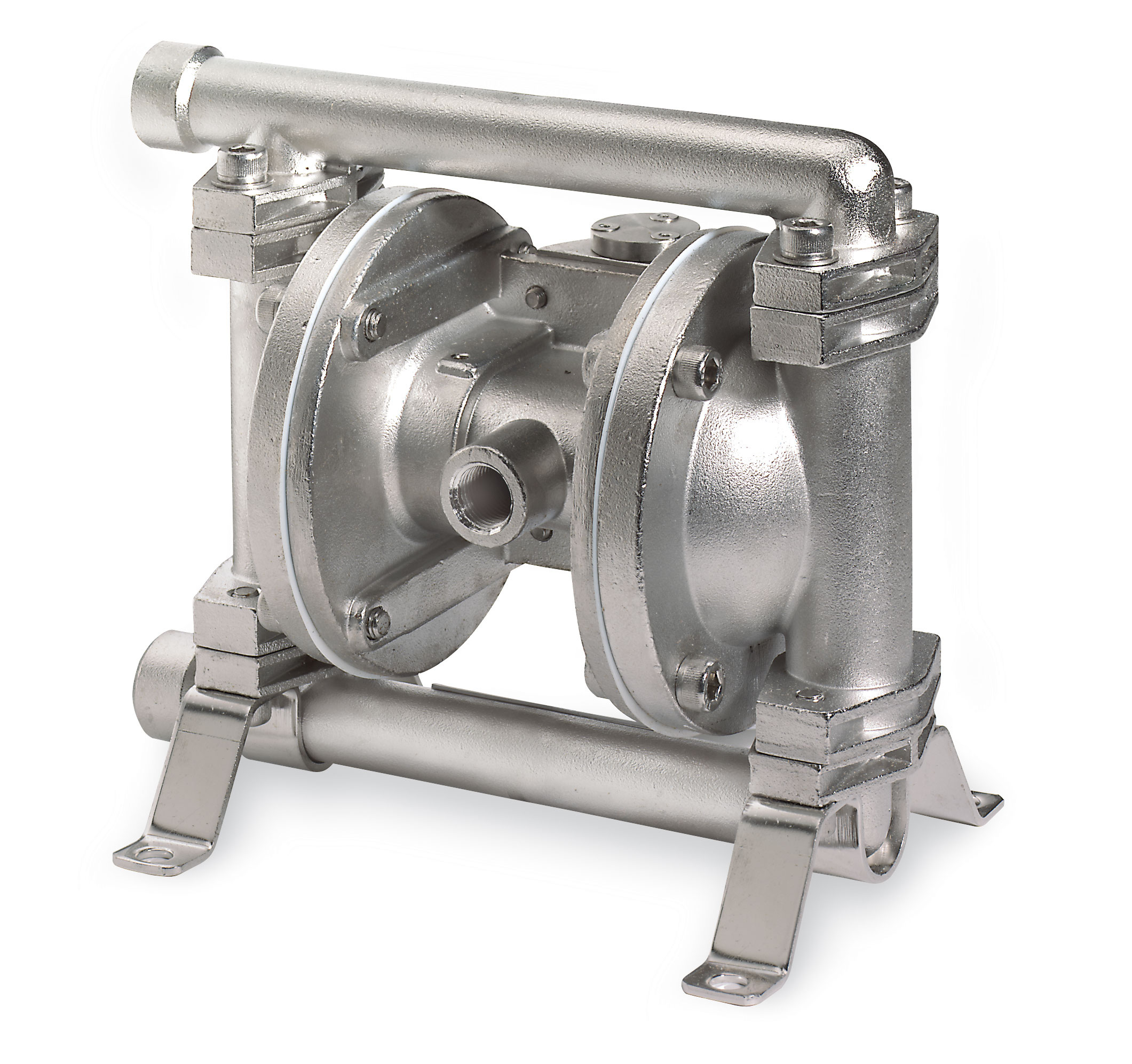 Atex approved stainless steel double diaphragm pump gpm