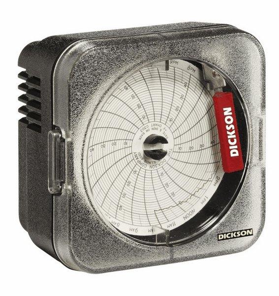 Dickson SC367 3 Temperature Chart Recorder 14 To 32 F 25