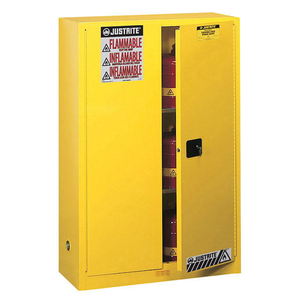 Justrite Flammable Storage Safety Cabinet 45 Gallons Sure