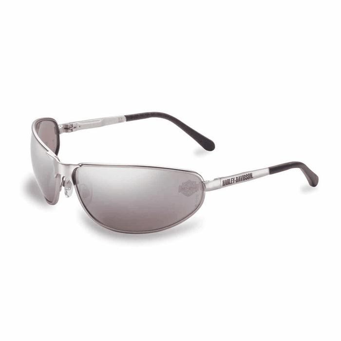 Harley Davidson Safety Glasses HD500 Silver Frame Silver ...