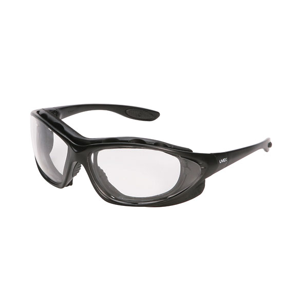 uvex by honeywell seismic safety eyewear clear lens anti