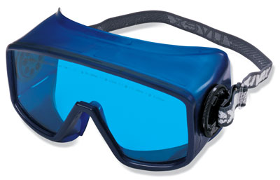 honeywell laser goggles vented uvextreme coated hene from