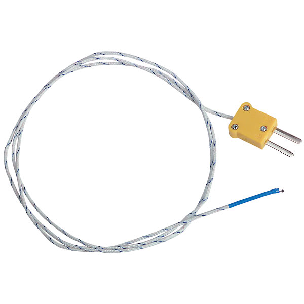 extech tp870 thermocouple probe beaded wire type k from